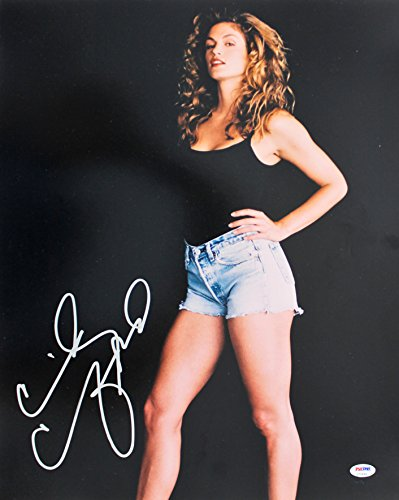 (Cindy Crawford Sexy Authentic Signed 16x20 Photo Autographed PSA/DNA #U70494)