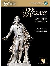 Mozart - Concerto No. 23 in A Major, KV488: Music Minus One Piano
