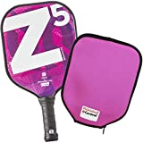 Onix Z5 Graphite Pickleball Paddle and Paddle Cover (Mod Pink)