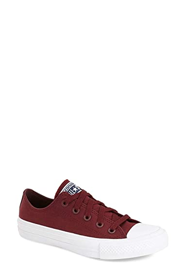 Converse Taylor Shoe Ox Casual Ii Deep Bordeauxwhite Unisex 5 Chuck reodBCx