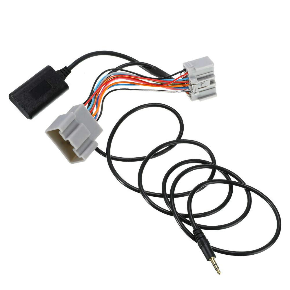 JUST N1 14Pin Bluetooth Module Radio Stereo Audio AUX Cable Adapter for Volvo C30//S40//V40//V50//S60//S70//C70