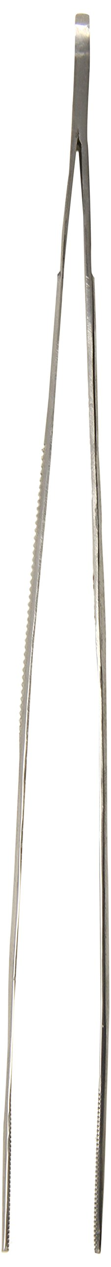 TAMSCO Thumb Tweezers 10-Inch Serrated Stainless Steel Serrated Blunt Point