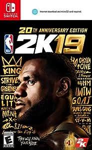 NBA 2K19 - 20th Anniversary Edition for Nintendo Swith