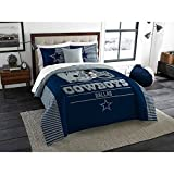 NFL Dallas Cowboys ''Draft'' King Bedding Comforter Set