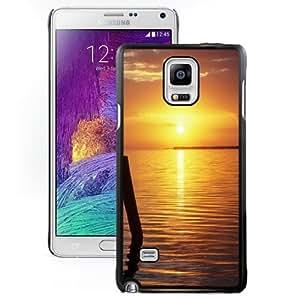 New Personalized Custom Designed For Samsung Galaxy Note 4 N910A N910T N910P N910V N910R4 Phone Case For Calm Lake Sunset Phone Case Cover wangjiang maoyi