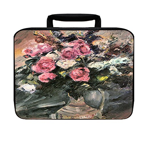 Roses #2 (Lovis Corinth) Insulated Lunch Box Bag Corinth Rose