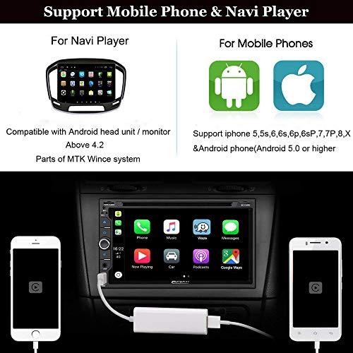 60%OFF USB Carplay Dongle,Carlinkit Mini Smartphone Link Receiver