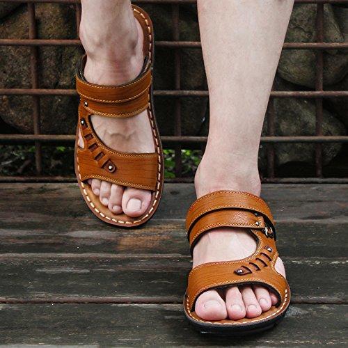Sandalias sandals Hombre De Yellow 806 Zapatos Light Corea Verano Sandalias Y q0TwISr5wx