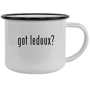 got ledoux? - 12oz Stainless Steel Camping Mug, Black