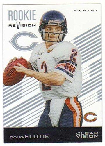 2015 Panini Clear Vision Rookie ReVision #96 Doug Flutie Bears NFL Football Card ()
