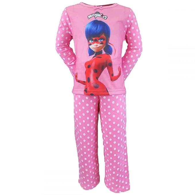 Miraculous LadyBug - Pijama - para niña Rosa Rose 4 años