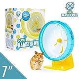 """Hamster Wheel 7"""" Pet Noiseless Spinners Comfort"""