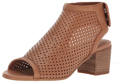 (STEVEN by Steve Madden Women's Sambar Dress Sandal, Tan Leather, 8 M US)