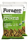 Forager Organic Vegetable Chips, Wasabi Greens 5 oz - 2 pack
