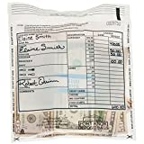Cash Transmittal Bags - 8 x 10 - Case of 500 Bags