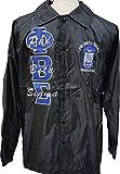 Phi Beta Sigma Mens Crossing Line Jacket [Black - 2XL]