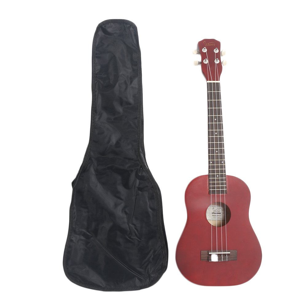 Lovinland 26'' Wooden Ukulele Hawaiian Ukulele Beginner Guitar Toys Rosewood Fingerboard with Bag