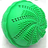 Laundry Washing Ball by ECO SPIN - 2 UNITS - Used up 1000 Loads - Eco-Friendly All Natural Detergent Alternative - Wash Ball