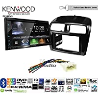 Volunteer Audio Kenwood Excelon DDX6904S Double Din Radio Install Kit with Satellite Bluetooth & HD Radio Fits 2014-2015 Mitsubishi Mirage