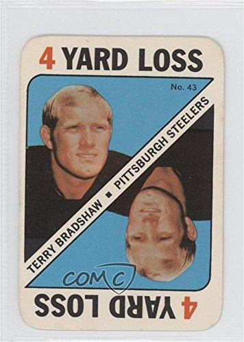 1971 Card Topps Football (Terry Bradshaw (Football Card) 1971 Topps Game Cards - [Base] #43)
