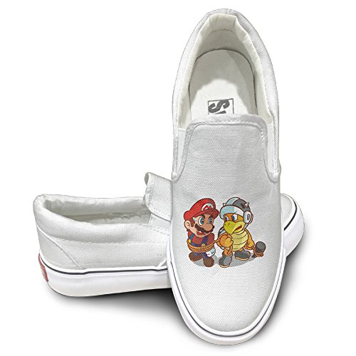 OOONG Super Mario Casual Slip On Canvas  - Chess King Costume Shopping Results