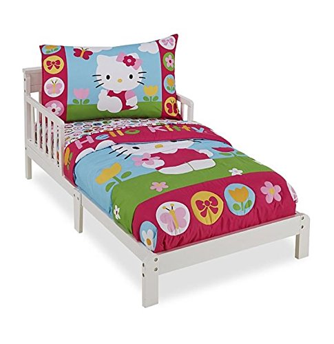 Hello Kitty 4-piece Toddler Bedding Set - Hello Kitty Toddler Bedding Shopping Results