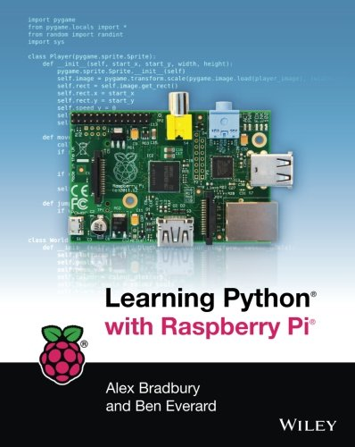Book cover of Learning Python with Raspberry Pi by Alex Bradbury