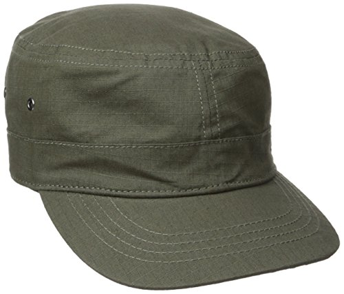 Military Cap Hat Olive (Levi's Men's Ripstop Basic Military Stlye Cadet Hat, Olive, One Size)