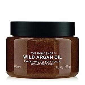 The Body Shop Wild Argan Oil Exfoliating Gel Body Scrub, 250ml