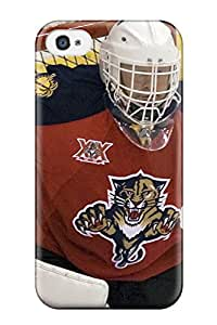 Premium Florida Panthers (8) Back Cover Snap On Case For Iphone 4/4s