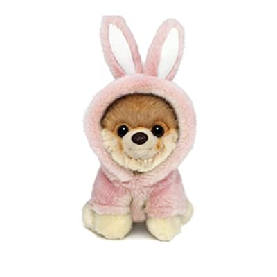 "GUND Itty Bitty Boo #043 Easter Bunny Stuffed Animal Dog Plush, 5"": Toys & Games"