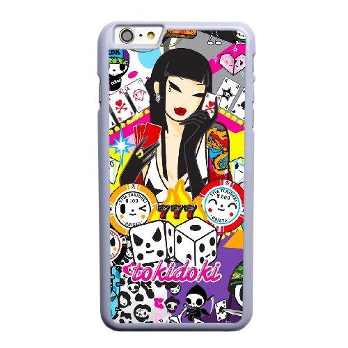 Coque,Coque iphone 6 6S 4.7 pouce Case Coque, Tokidoki 777 Cover For Coque iphone 6 6S 4.7 pouce Cell Phone Case Cover blanc