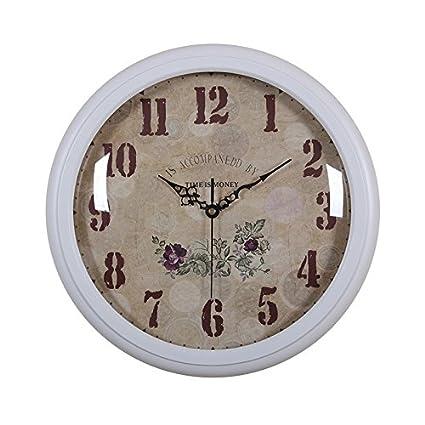 Reloj de pared decorativos para el Hogar Moda retro clásico moderno reloj para salón y dormitorio