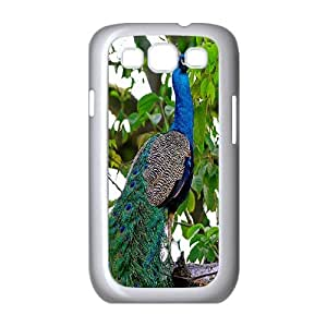 Peacock Art Design Pattern Hard Skin Back Case Cover Potector for Samsung Galaxy Case S3 HSL441301
