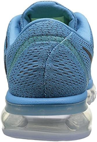 (9.5 UK, Blue / Black (Blue Lagoon / Black-Brave Blue)) - Nike Men's Air Max 2016 Running Shoes