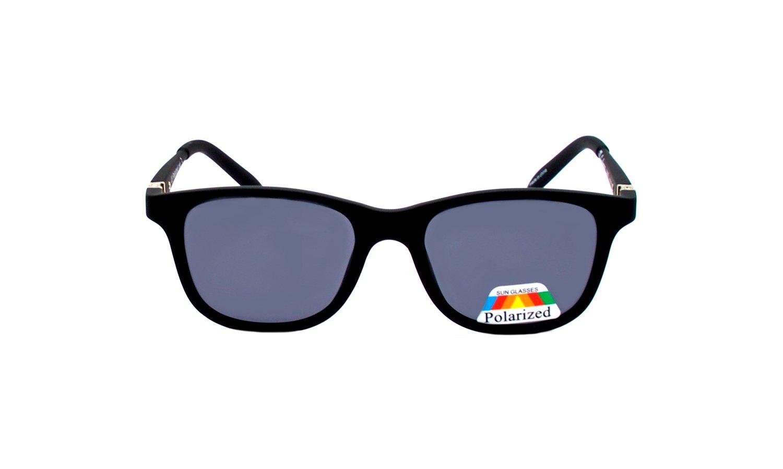 Sonnenbrille Rainbow® Wayfarer für Kinder / Kindersonnenbrille 6-10 Yahren / Polarisierte Gläser / Chatham (Grey) MpsdDIVKR