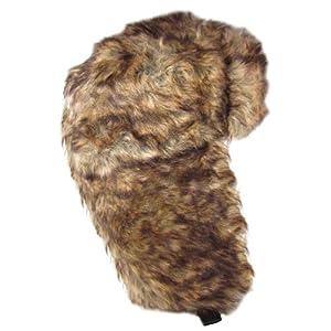 Dakota Dan Trooper Ear Flap Cap w/ Faux Fur Lining Hat