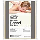 Product review for For Pro Premium Flannel Flat Sheet, Natural