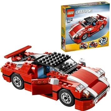 Lego Creator 5867 Roter Sportwagen Amazonde Spielzeug