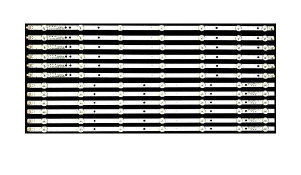 Full Set 30086 UN60H6203 UN60J6200AF BN96-29074A BN96-29075A for Samsung LED Strip 12