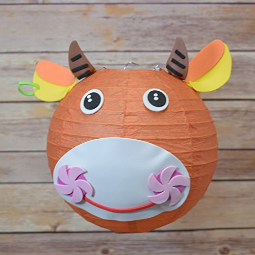 Quasimoon PaperLanternStore.com Kid Craft Project Paper Lantern Animal