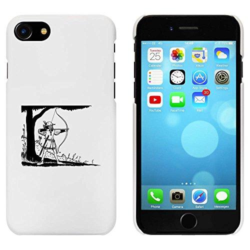 Blanc 'Robin des Bois' étui / housse pour iPhone 7 (MC00074328)