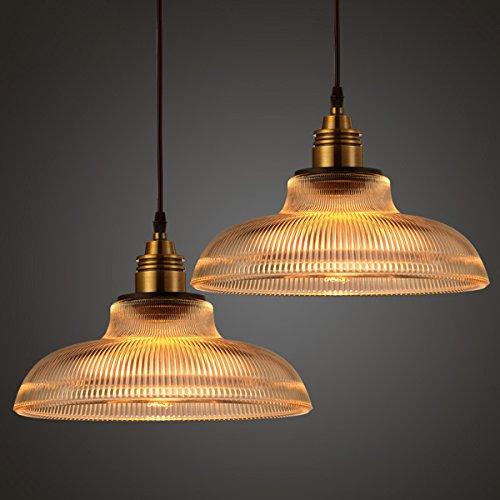 Loft Vintage Antique Industrial Glass Pendant Ceiling Light Retro Bar Lampshade Fixture 510l 2BDkDNUL