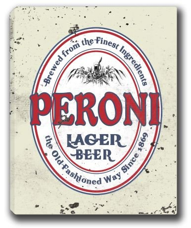 peroni-lager-beer-stretched-canvas-sign-16-x-20
