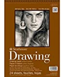 drawing paper for pastels - Strathmore 14-Inch by 17-Inch Drawing Medium Paper Pad, 24-Sheet