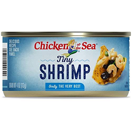 Chicken of The Sea Shrimp, Tiny, 4 Ounce