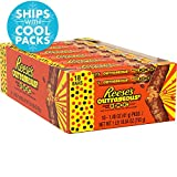 REESE'S OUTRAGEOUS! Bar is the perfect addition for REESE'S lovers on-the-go. The unmistakable taste of REESE'S peanut butter mixed with gooey caramel, stuffed with crunchy REESE'S PIECES candies and enrobed in smooth milk chocolate will have...