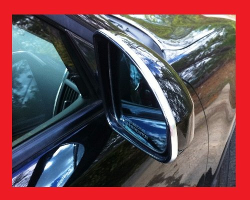 Dodge Chrome Side Mirror Trim Molding All Models D.I.Y. Kit