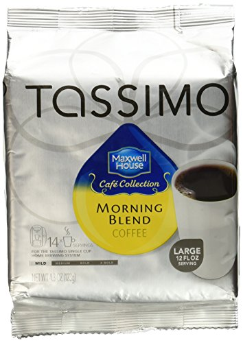 tassimo cafe collection morning blend t discs 14 ct coffee store. Black Bedroom Furniture Sets. Home Design Ideas