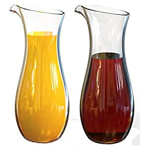 Stallion Barware (Polycarbonate) Unbreakable Juice Jar - 1 Litre - Pack of 1